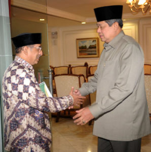 Ketua PP Al-Irsyad Al-Islamiyyah, KH Abdullah Djaidi diterima oleh Presiden Susilo Bambang Yudhoyono